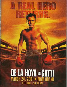 A Real Hero Returns: Oscar De La Hoya vs. Arturo Gatti