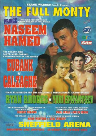 The Full Monty: Chris Eubank vs. Joe Calzaghe
