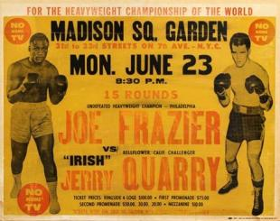 Joe Frazier vs. Jerry Quarry I