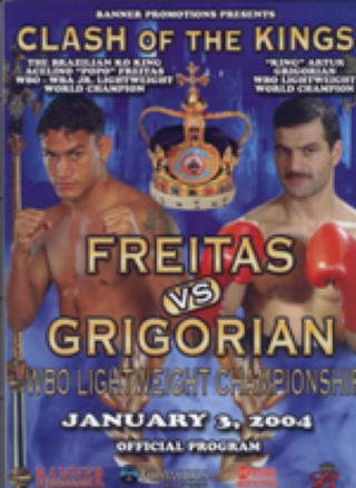 Clash Of The Kings: Artur Grigorian vs. Acelino Freitas