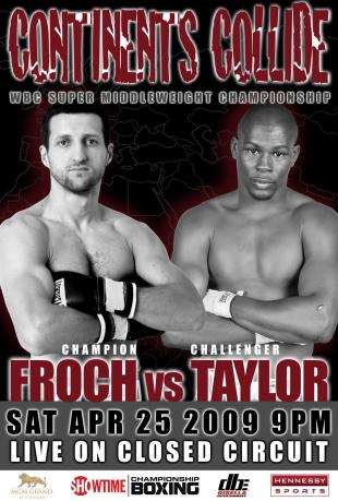 Continents Collide: Carl Froch vs. Jermain Taylor