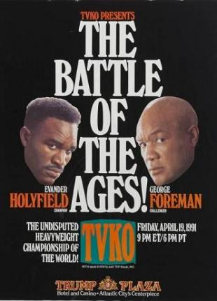 The Battle Of The Ages: Evander Holyfield vs. George Foreman