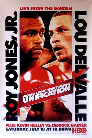 Unification: Roy Jones Jr. vs. Lou Del Valle