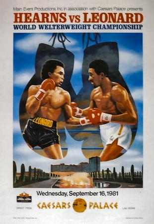 The Showdown: Sugar Ray Leonard vs. Thomas Hearns I