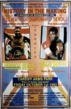 History In The Making: Lennox Lewis vs. Frank Bruno
