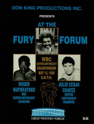 Fury At The Forum: Roger Mayweather vs. Julio Cesar Chavez II