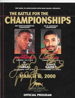 The Battle For The Championships: Diego Corrales vs. Derrick Gainer