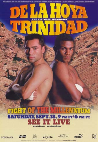 Fight Of The Millennium: Oscar De La Hoya vs. Felix Trinidad