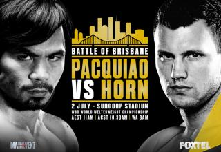Battle Of Brisbane: Manny Pacquiao vs. Jeff Horn