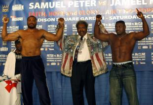 Ain't No Stopping Us Now: Samuel Peter vs. Jameel McCline