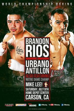 Brandon Rios vs. Urbano Antillon