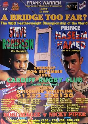 A Bridge Too Far: Steve Robinson vs. Naseem Hamed