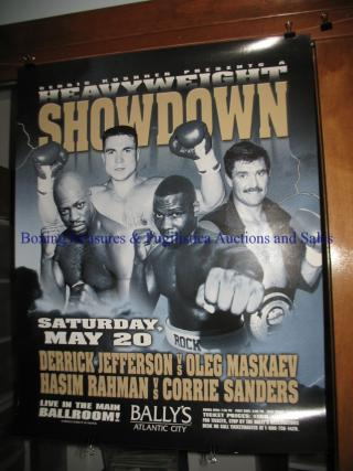 Heavyweight Showdown: Corrie Sanders vs. Hasim Rahman