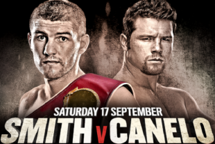 Liam Smith vs. Saul Alvarez