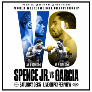 Errol Spence Jr vs Danny Garcia