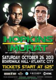 Bernard Hopkins vs. Karo Murat Poster