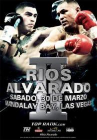Brandon Rios vs. Mike Alvarado II Poster