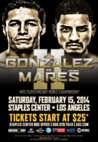 Jhonny Gonzalez vs. Abner Mares II Poster