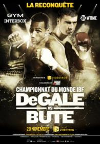 James DeGale vs. Lucian Bute