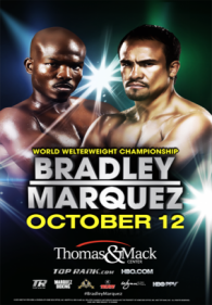 Juan Manuel Marquez vs. Timothy Bradley Poster