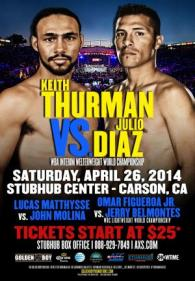 Keith Thurman vs. Julio Diaz