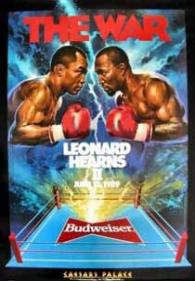 The War: Sugar Ray Leonard vs. Thomas Hearns II Poster