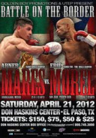 Battle On The Border: Abner Mares vs. Eric Morel Poster