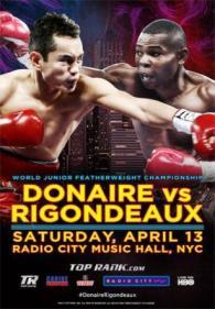 Nonito Donaire vs. Guillermo Rigondeaux Poster