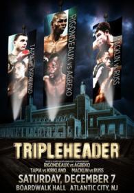 Matthew Macklin vs. Lamar Russ Poster