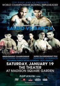 Rocky Martinez vs. Juan Carlos Burgos poster