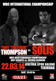 Tony Thompson vs. Odlanier Solis Poster