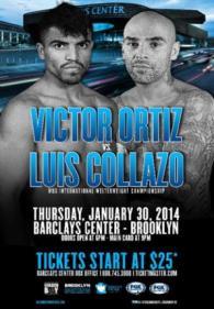Victor Ortiz vs. Luis Collazo Poster