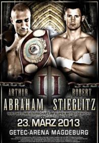 Robert Stieglitz vs. Arthur Abraham Poster