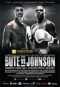 Lucian Bute vs. Glen Johnson Fight Poster