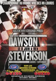 Chad Dawson vs. Adonis Stevenson Poster