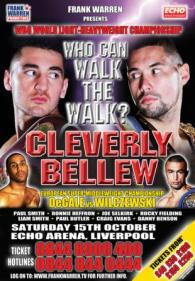 Nathan Cleverly vs. Tony Bellew Fight Poster