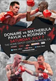 Nonito Donaire vs. Jeffrey Mathebula Poster