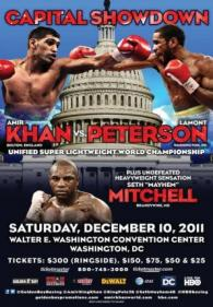 Capital Showdown: Amir Khan vs. Lamont Peterson poster