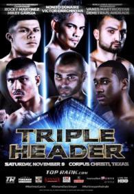 Rocky Martinez vs. Mikey Garcia Poster