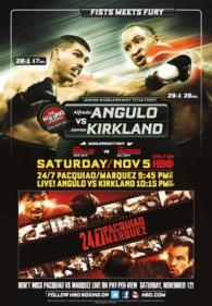 Alfredo Angulo vs. James Kirkland Fight Poster