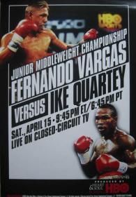 Fernando Vargas vs. Ike Quartey Poster