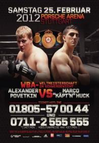 Alexander Povetkin vs. Marco Huck Poster