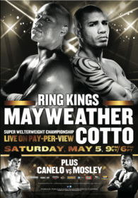 Ring Kings: Floyd Mayweather Jr. vs. Miguel Cotto Poster