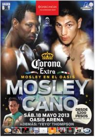 Shane Mosley vs Pablo Cesar Cano Poster