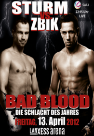 Bad Blood: Felix Sturm vs. Sebastian Zbik Poster