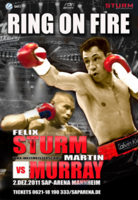 Felix Sturm vs. Martin Murray Fight Poster