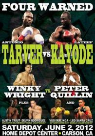 Four Warned: Antonio Tarver vs. Lateef Kayode Poster