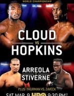 Bernard Hopkins vs Tavoris Cloud Poster
