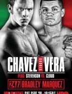Julio Cesar Chavez Jr vs. Bryan Vera Poster