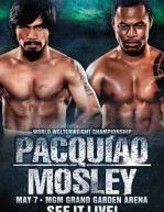Manny Pacquiao vs. Shane Mosley Poster